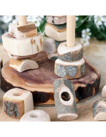 Pilares de la Tierra detalle piezas