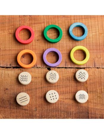 Geometría Natural  colors y trazos