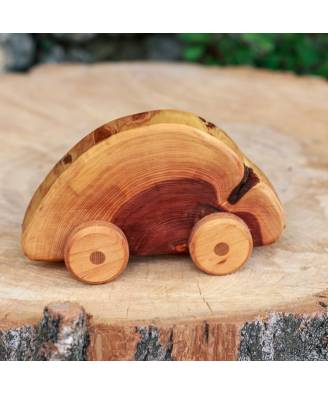 Juniper wood car